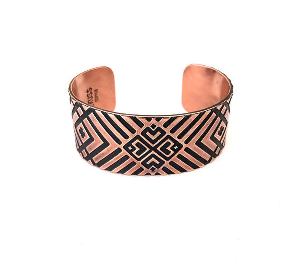 Kussman Heart Basket Cuff - B.YELLOWTAIL