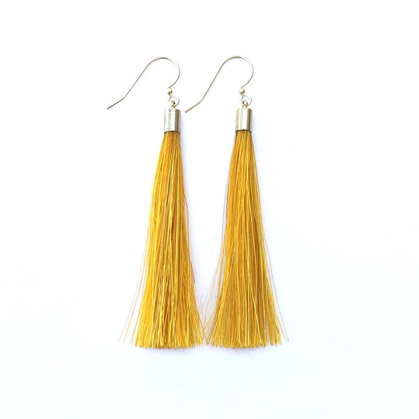 Yellow Horsehair Tassels - B.YELLOWTAIL