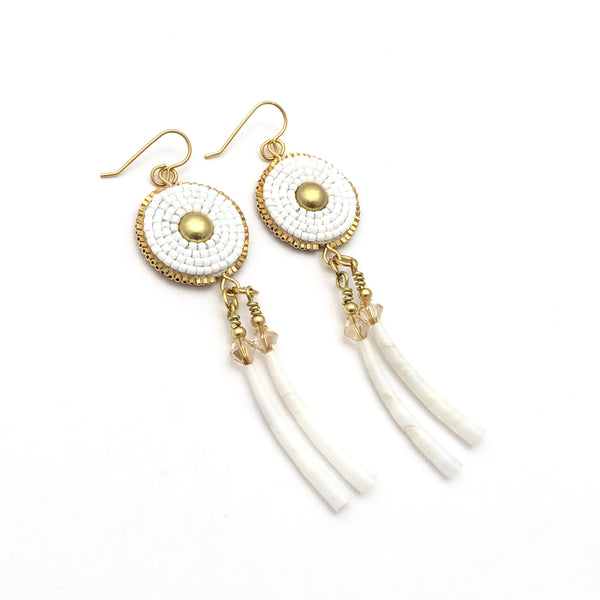 Ochanku Earrings - Blanco - B.YELLOWTAIL