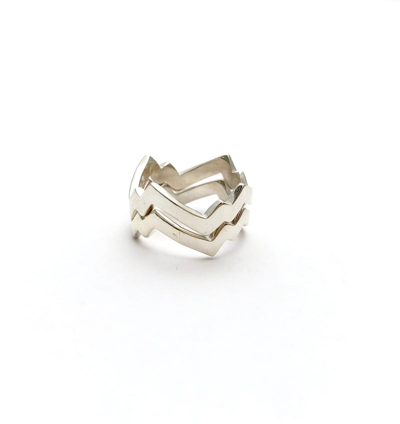 Lightning Bolt Ring - B.YELLOWTAIL