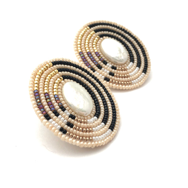 Cheyanne Symone Pearl Direction Earrings - B.YELLOWTAIL