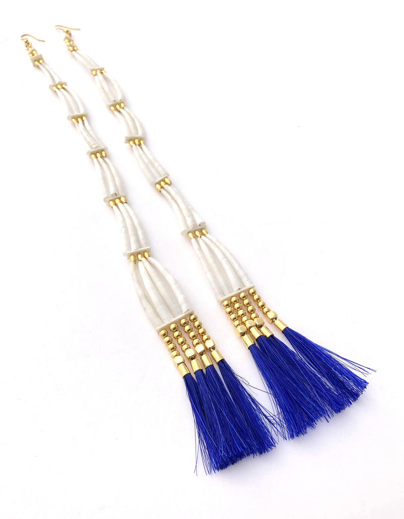 Goodwill Jingle Dentaliums W/ Blue Tassel - B.YELLOWTAIL