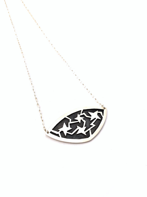 Stormy Night Pendant Necklace - B.YELLOWTAIL
