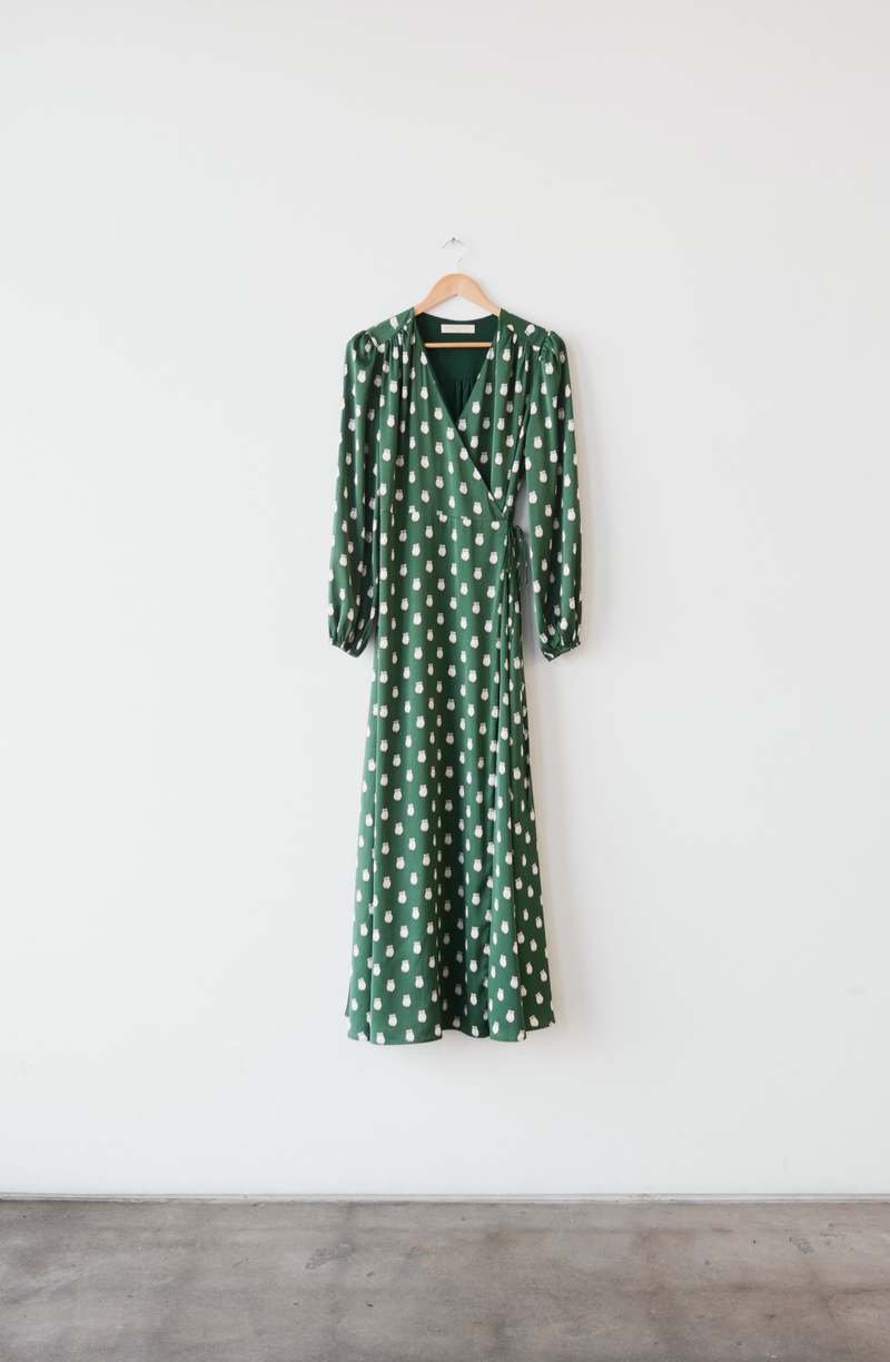 Nina - Maxi wrap dress - B.YELLOWTAIL
