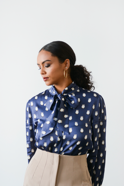 Future Chairwoman - Bow Blouse - B.YELLOWTAIL