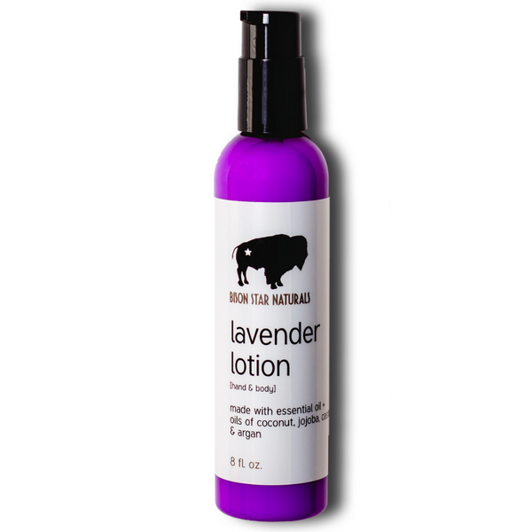 Bison Star Lotion - Lavender or Pine