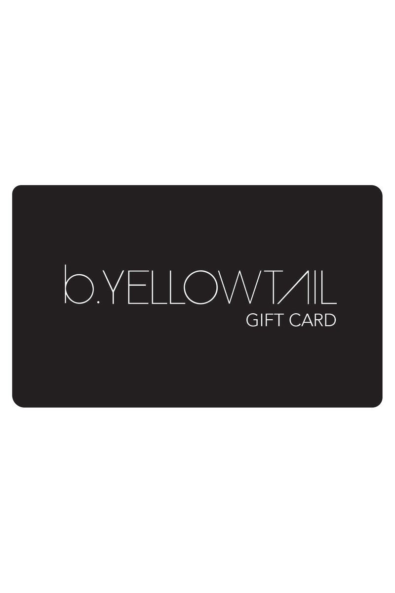 Gift Card - B.YELLOWTAIL