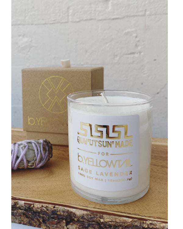 SAGE LAVENDER CANDLE - B.YELLOWTAIL