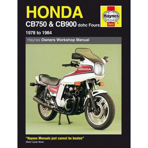 Honda CB750 CB900 DOHC Fours 1978-84 Haynes Manual