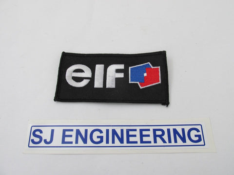 ELF MOTORCYCLE OIL Sew on Embroidered Patch/ Badge