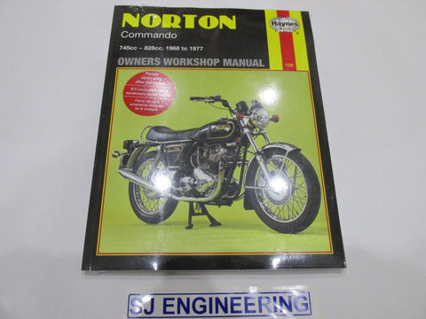 Norton Commando 1968-1977  Haynes Manual