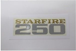 BSA STARFIRE 250 TRANSFER DECAL  60-2376