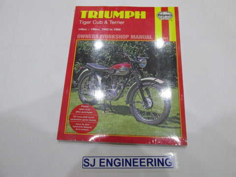 TRIUMPH TIGER CUB TERRIER 150-200CC 1952-1968 Haynes Manual
