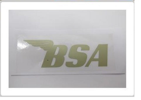 BSA TRANSFER STICKER DECAL GOLD WD B40 ETC