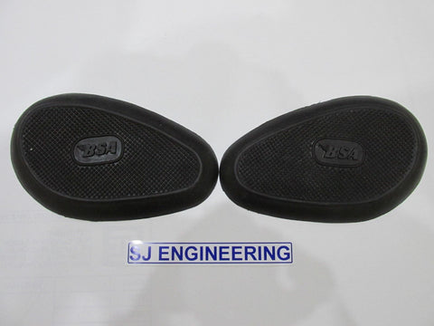 BSA A7 A10 B31 B33 C10 C11 C12 M20 M21 M33 KNEE PAD GRIPS AND BACKING PLATES 65-8205 65-8206
