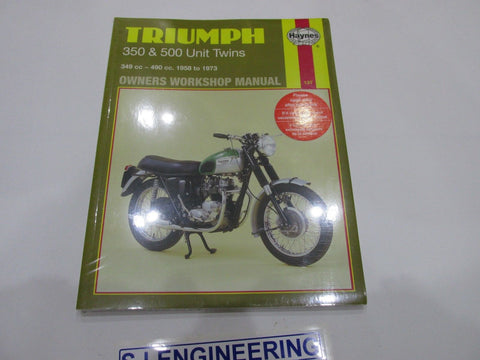 Triumph 350 500 Unit Twins inc TIGER Haynes Manual