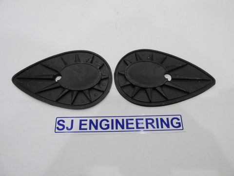 BSA A7 A10 A50 A65 B25 B40 B44 C15 C25 PETROL TANK BADGE BACKING RUBBERS 68-8152/3 68-8088 40-8124