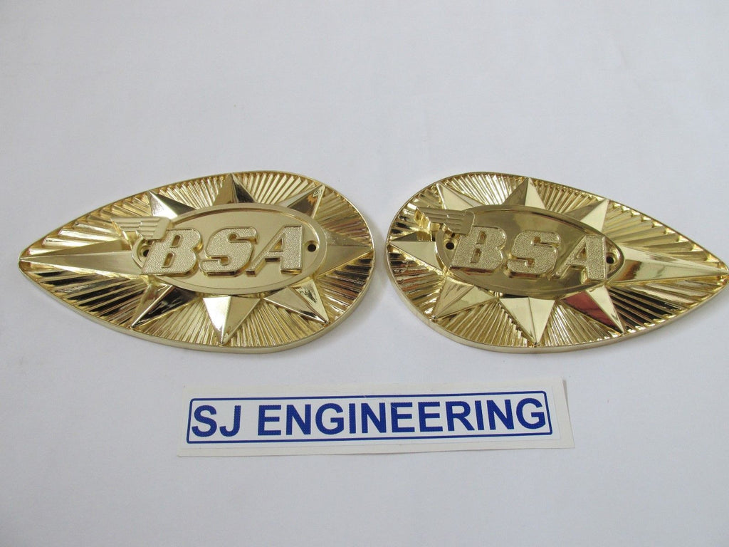 BSA A65 Tank Badges