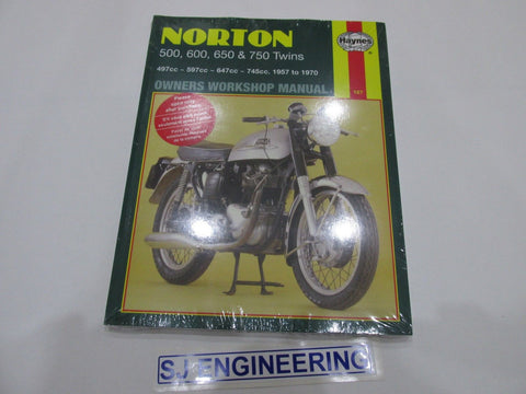 Norton 1957-1970 500 600 650 750 Twins Haynes Manual