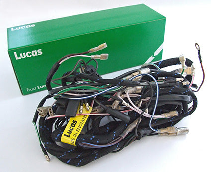 BSA A50 A65 Genuine Lucas Wiring Harness Complete New LU54955258 1969-1970