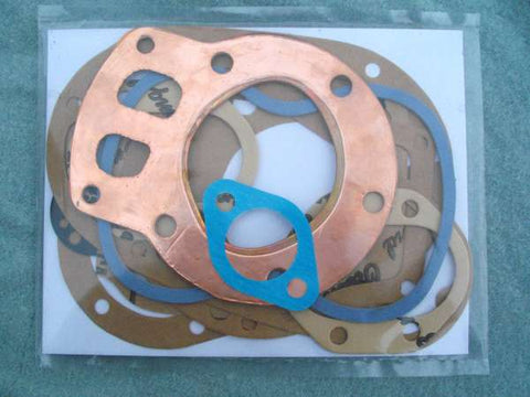 BSA C11 GASKET SET SINGLE RIGID AND PLUNGER 1939-1953