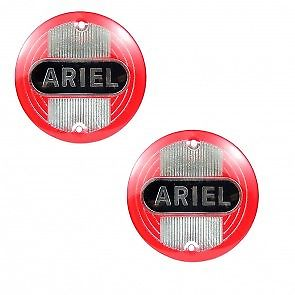 ARIEL SQUARE 4 NH VH FH TANK BADGES RED 1954-1959 5004-54