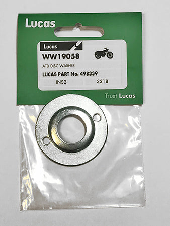 Genuine Lucas ATD (Automatic Timing Device) Washer disc cover LU498339
