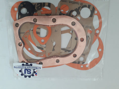 BSA M20 M21 FULL GASKET SET ALL MODELS 1950-1961