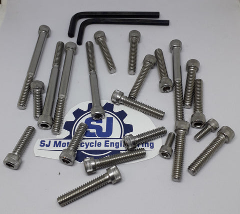 TRIUMPH TRIDENT T150 COMPLETE ENGINE BOLT ALLEN SCREW SET UNC THREAD