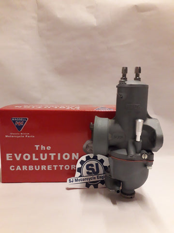 930/300,9/30R 30MM BORE 4 STROKE MODELS WASSELL CARBURETTOR RIGHT HAND
