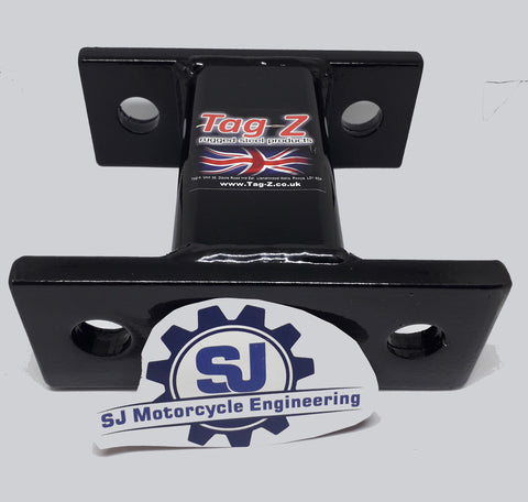 CAR VAN TOW-BAR RACK SPACER FOR MOTOCROSS, ENDURO & TRIAL BIKES 80CC-600CC 120MM