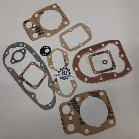 BSA M20 M21 FULL GASKET SET 1939-1949 UK MADE