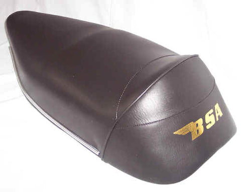 BSA A50 A65 DUAL SEAT WITH RAISED BACK 1966-70 68-9330