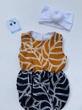 Load image into Gallery viewer, Izzy Romper Navy Rust
