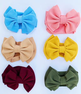 Large Bow Turban