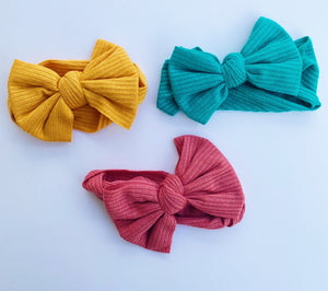 Baby Bow Turban Headband