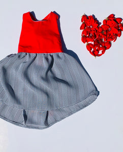 Sew in Love Rhylie Dress Retro Red