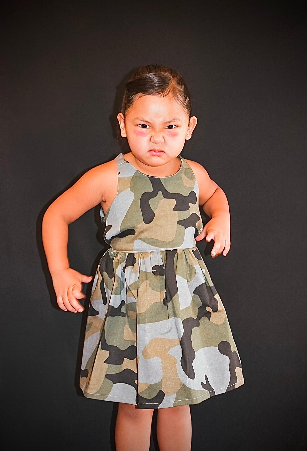 Rhylie Dress Camo Edition