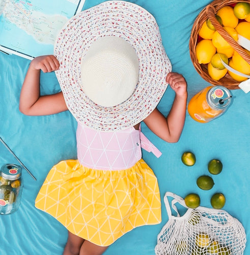 Rhylie Dress Lemonade Edition