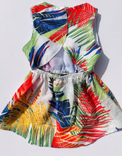 Load image into Gallery viewer, Izzy Romper Rainbow Tropical