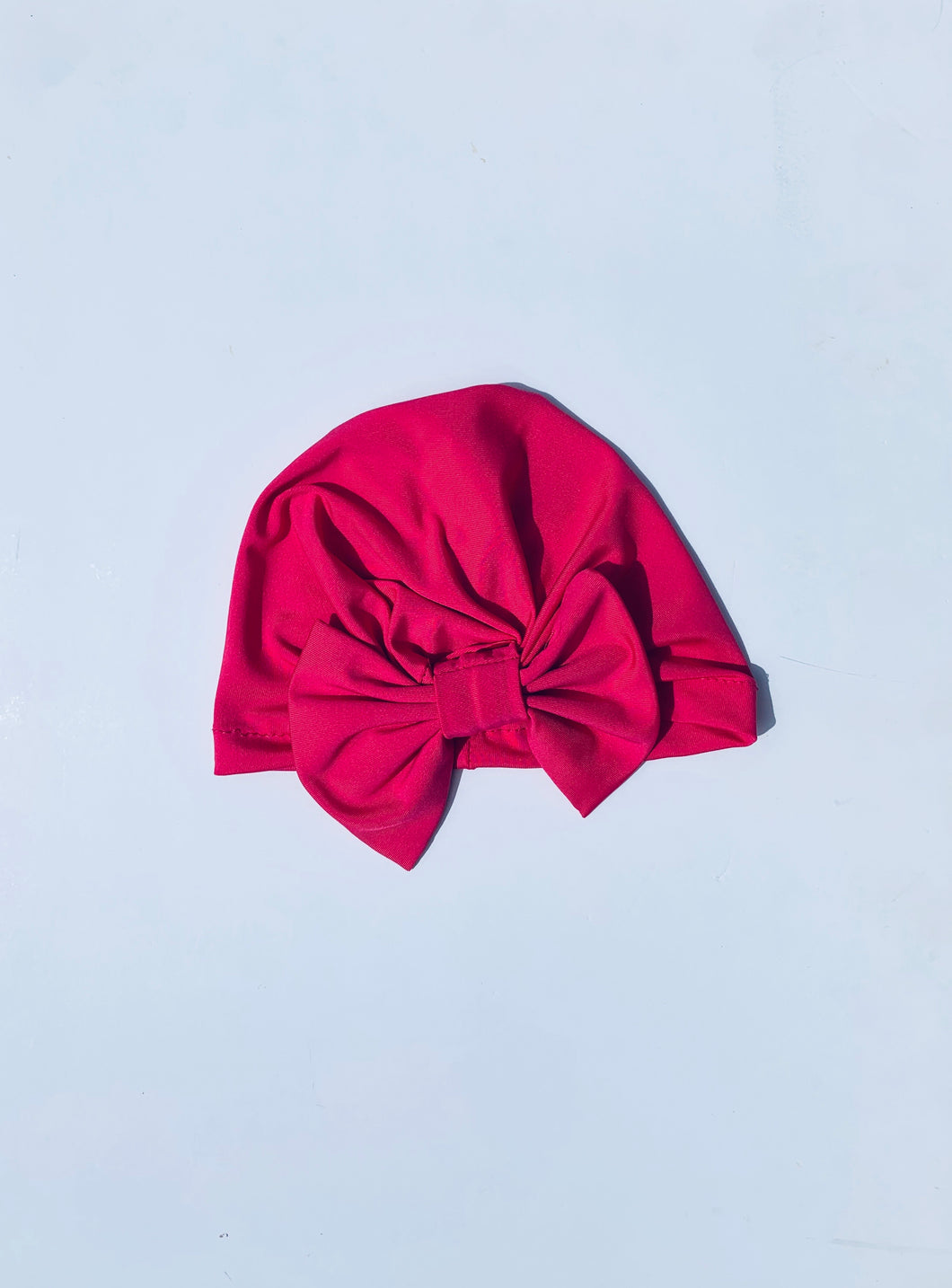 Neon Rayon Beanie Pink
