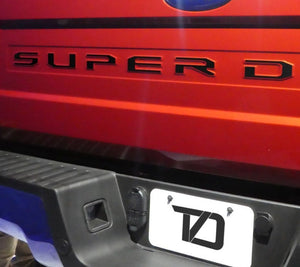 Premium Cast Vinyl Decals for 2017-2019 SUPER DUTY Tailgate - TVD Vinyl Decals