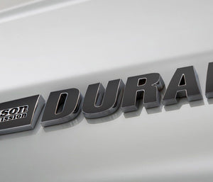 Premium Cast Vinyl Inlay Decals For 2007-2018 DURAMAX Emblems