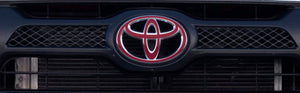Premium Vinyl Grille Logo Inlay Decals for 2012-2015 Tacoma - TVD Vinyl Decals