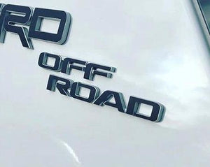 Premium Cast Vinyl Decals for 2017-2020 4Runner TRD OFF ROAD C-Pillar - TVD Vinyl Decals