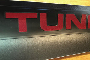 Premium Cast Vinyl Decals for 2007-2013 Tundra Door Sill Protectors - TVD Vinyl Decals