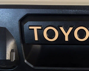 Premium Cast Vinyl Decals for 2016-2020 Tacoma/2014-2020 Tundra Tailgate Handle - TVD Vinyl Decals