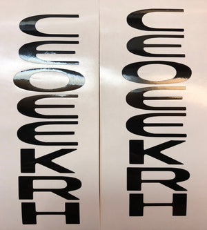 Premium Cast Vinyl Decals for 2014-2020 Cherokee Doors - TVD Vinyl Decals