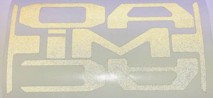 Reflective Vinyl Decals for 2016-2020 Tacoma Tailgate - TVD Vinyl Decals