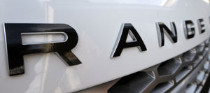 Premium Cast Inlay Decals for Range Rover Emblems